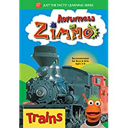 Adventures of Zimmo: Trains