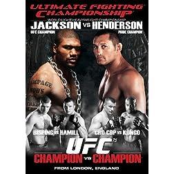 Ultimate Fighting Championship, Vol. 75: Champion vs. Champion
