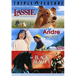 Lassie / Andre / Black Beauty (Triple Feature)