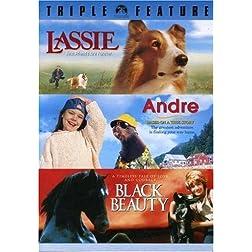 Lassie / Andre / Black Beauty (Triple Feature)
