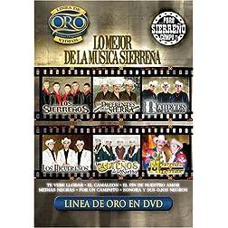 Lo Mejor de La Musica Sierrena: Linea de Oro en DVD