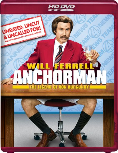Anchorman: The Legend of Ron Burgundy (Unrated) [HD DVD]