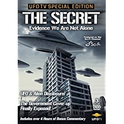UFO: The Secret: Evidence We Are Not Alone - 3 DVD Set