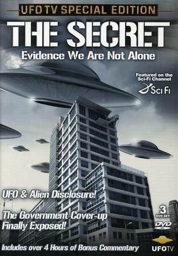 UFO: The Secret: Evidence We Are Not Alone - 3 DVD Set