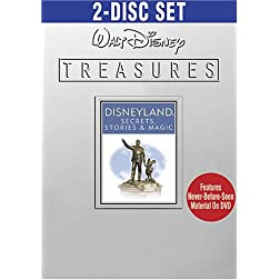 Walt Disney Treasures - Disneyland - Secrets, Stories & Magic