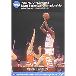 1987 NCAA Championship Indiana vs. Syracuse