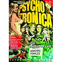 Psychotronica Collection 1(Delinquent Schoolgirls / Dream No Evil / Mondokeyhole / The Raw Ones / The Mermaids of Tiburon / Cry of the Bewitched