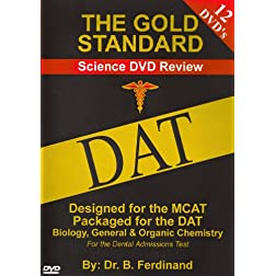 DAT Video Science Review for the Dental Admissions Test on DVD (2010-2011)