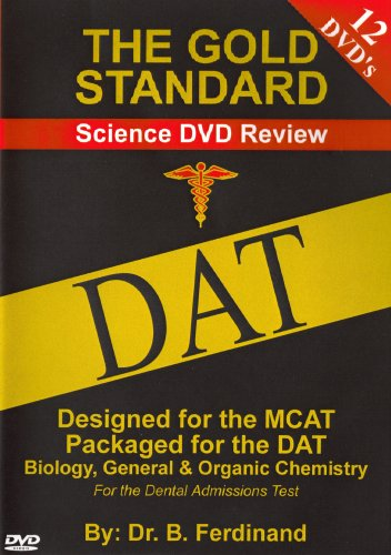 DAT Video Science Review for the Dental Admissions Test on DVD