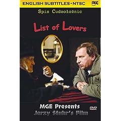List of Lovers