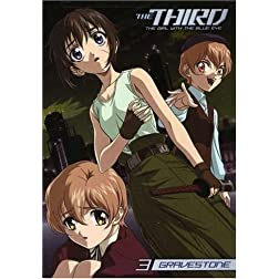 Third: The Girl With the Blue Eye, Vol. 3 - Gravestone