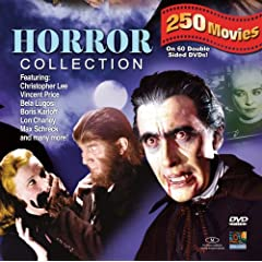 Horror 250 Movie Pack