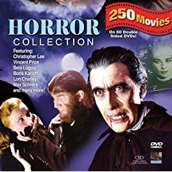 Horror 250 Movie Pack