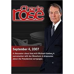 Charlie Rose (September 4, 2007)