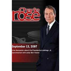 Charlie Rose (September 13, 2007)