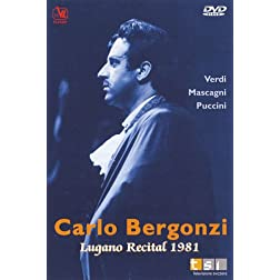 Carlo Bergonzi: Lugano Recital, 1981