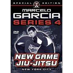 Marcelo Garcia Series 4, New Game Jiu-Jitsu- Instructional DVDs for Brazilian Jiu-Jitsu & Gracie Jiu-Jitsu