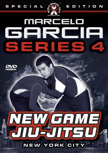 Marcelo Garcia Series 4, New Game Jiu-Jitsu- Instructional DVDs for Brazilian Jiu-Jitsu & Gracie Jiu-Jitsu
