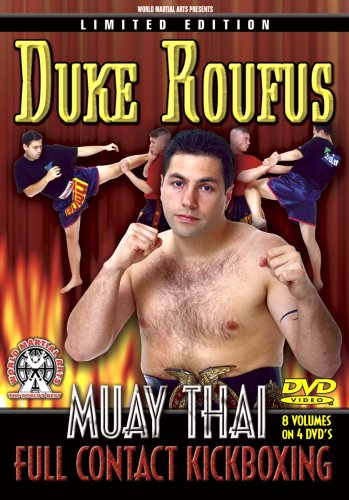 Duke Roufus Muay Thai Instructional DVDs, 8 Amazing Volumes for Full Contact Kickboxing, Muay Thai & Mixed Martial Arts Fighting