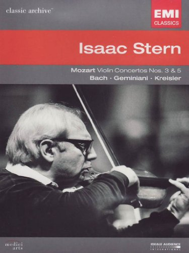 Mozart: Violin Concertos Nos. 3 & 5 [DVD Video]
