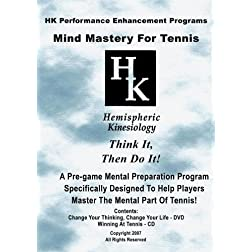 Mind Mastery For Tennis (DVD & CD)