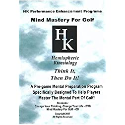 Mind Mastery For Golf (DVD & CD)