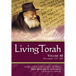 Living Torah Volume 40 Programs 157-160
