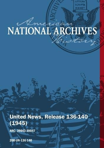 United News, Release 136-140 (1945) ALLIED BOMBERS STRIKE ON TWO FRONTS, ROOSEVELT INAUGURATED