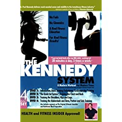 The Kennedy Workout System - Full set of 4 DVDs series.