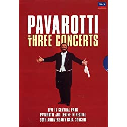 Luciano Pavarotti: Three Concerts