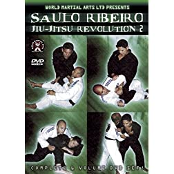 Saulo Ribeiro - Jiu-Jitsu Revolution Series 2 - World Class, Cutting Edge Brazilian Jiu-Jitsu For Sport and Tournament