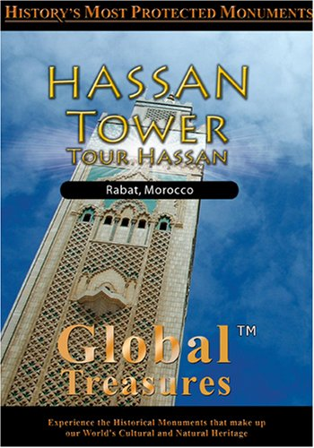 Global Treasures  HASSAN TOWER Tour Hassan Rabat, Morocco