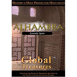 Global Treasures  ALHAMBRA Granada Andalucia, Spain
