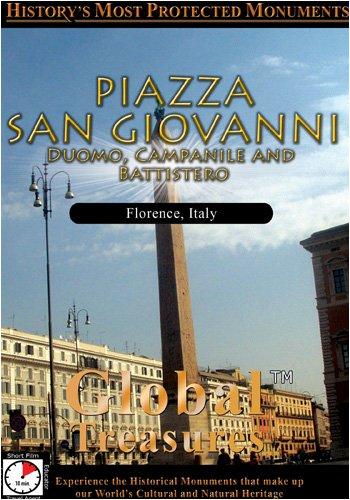 Global Treasures  PIAZZA SAN GIOVANNI Duomo Campanile And Battistero Firenze, Italy