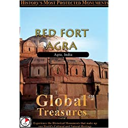 Global Treasures  RED FORT AGRA India