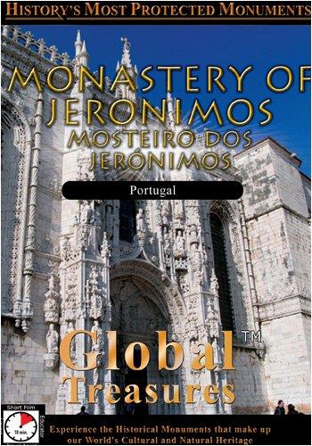 Global Treasures  MONASTERY OF JERONIMOS Mosteiro Dos Jeronimos Lisbon, Portugal