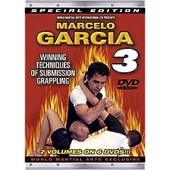 Marcelo Garcia Series 3, Winning Techniques Of Submission Grappling - Instructional DVDs for Brazilian Jiu-Jitsu & Gracie Jiu-Jitsu