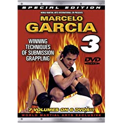 Marcelo Garcia Series 3, Winning Techniques Of Submission Grappling - Instructional DVDs for Brazilian Jiu-Jitsu & Gracie Jiu-Jitsu