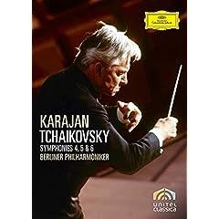 Herbert Von Karajan: Tchaikovsky - Symphonies 4, 5 and 6