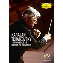 Herbert Von Karajan: Tchaikovsky - Symphonies 4, 5 and 6