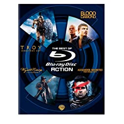 The Best of Blu-ray - Action (Troy Director's Cut / Blood Diamond / Wyatt Earp / Alexander Revisited The Final Cut) [Blu-ray]