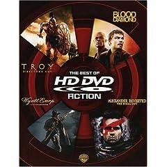 The Best of HD DVD - Action (Troy Director's Cut / Blood Diamond / Wyatt Earp / Alexander Revisited The Final Cut) [HD DVD]