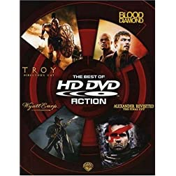 The Best of HD DVD - Action (Troy Director's Cut / Blood Diamond / Wyatt Earp / Alexander Revisited The Final Cut) [HD DVD]