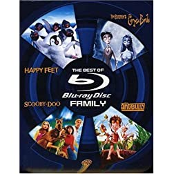 The Best of Blu-ray - Family (Happy Feet / Tim Burton's Corpse Bride / Scooby-Doo / The Ant Bully) [Blu-ray]
