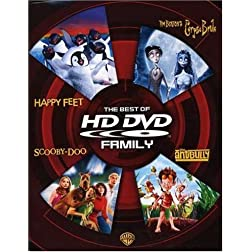 The Best of HD DVD - Family (Happy Feet / Tim Burton's Corpse Bride / Scooby-Doo / The Ant Bully) [HD DVD]