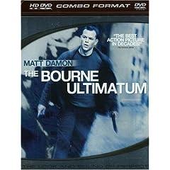 The Bourne Ultimatum (Combo HD DVD and Standard DVD) [HD DVD]