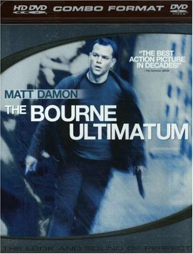 The Bourne Ultimatum (Combo HD DVD and Standard DVD) [HD DVD]