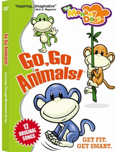 The Monkeydoos: Go Go Animals