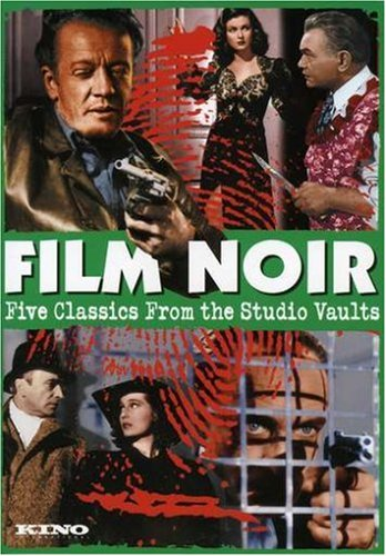 Film Noir: Five Classics from the Studio Vaults (Scarlet Street/Contraband/Strange Impersonation/They Made Me A Fugitive/The Hitch-Hiker)