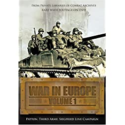 War in Europe, Vol. 1